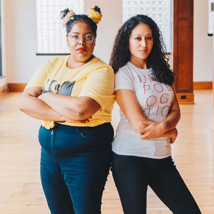 Womxn of Craft Co-Founders, Theresa Stewart and Elena Valentine (Photo provided by Elena Valentine)