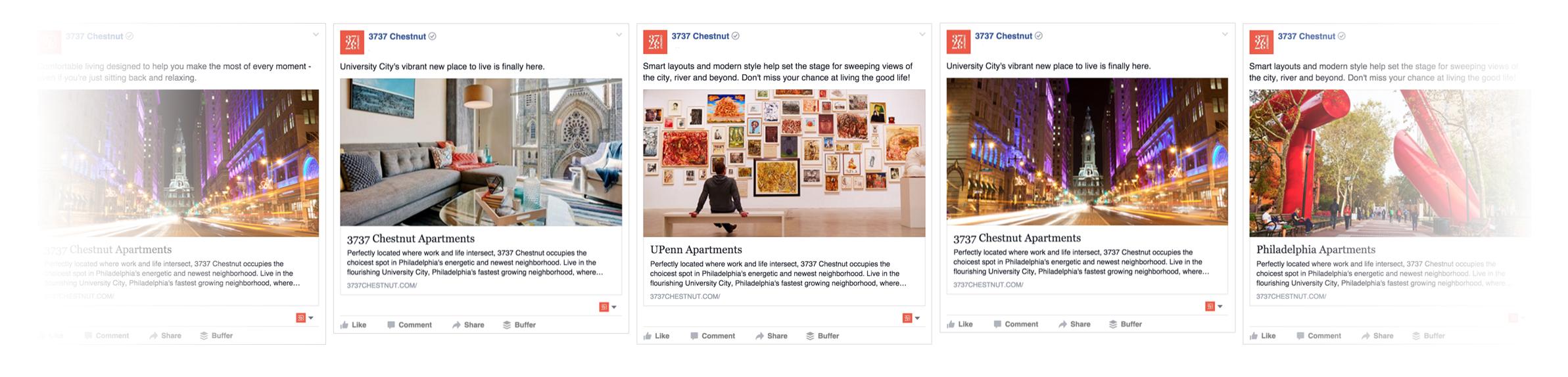 3737 Chestnut Facebook Ads