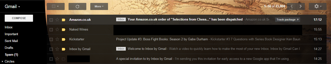 Gmail All Mail folder