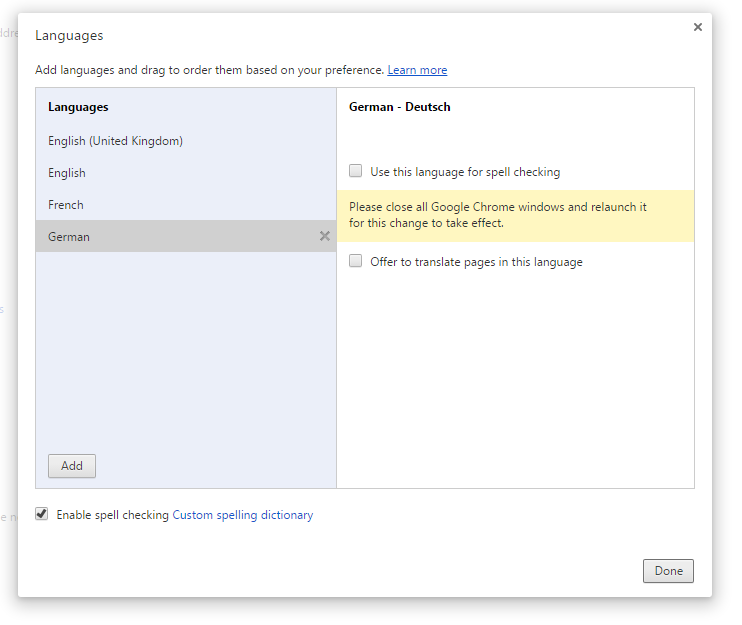 7) Close Chrome and Relaunch it.