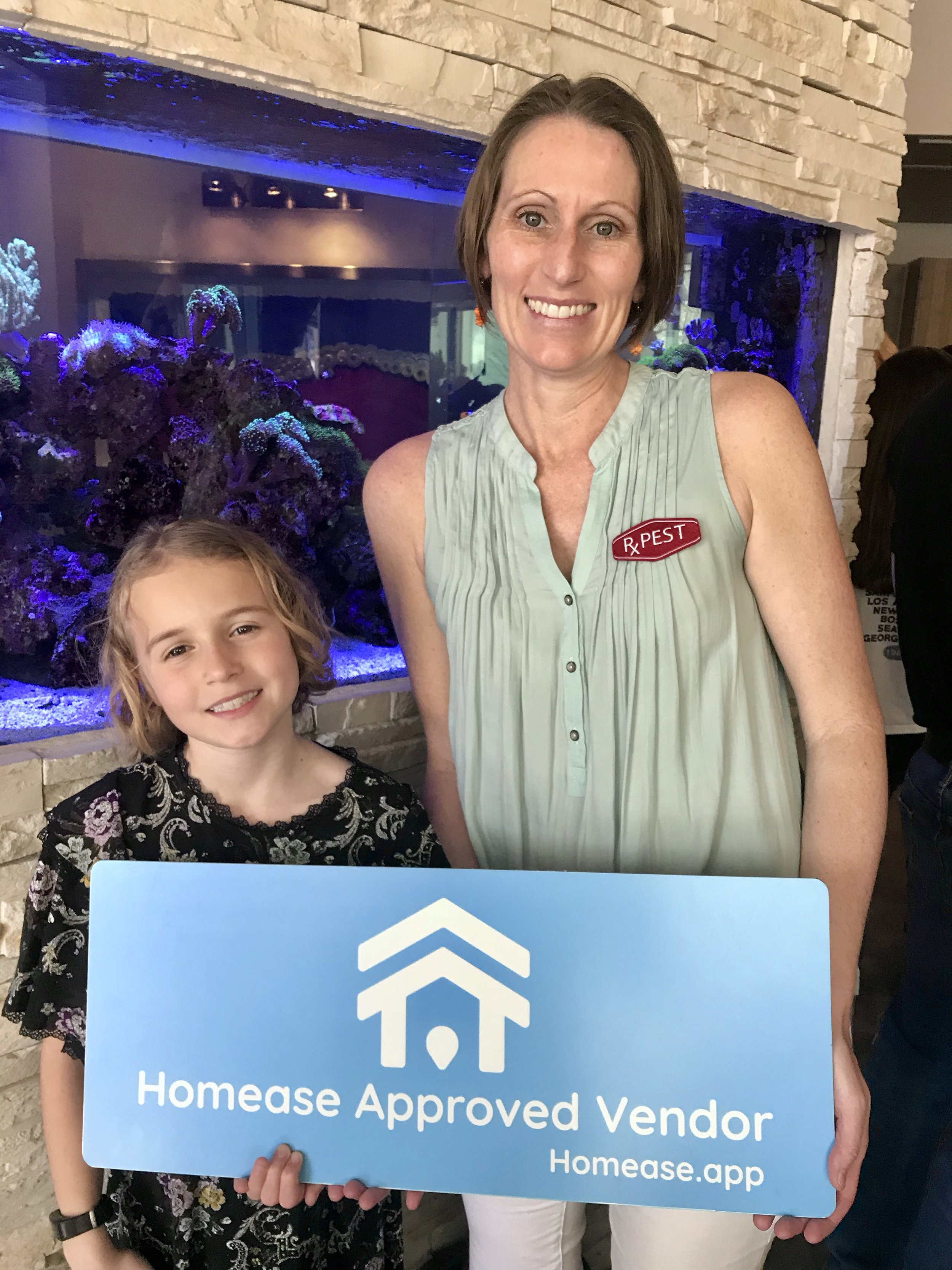 Michelle and maddi Rutan at the homease launch Party