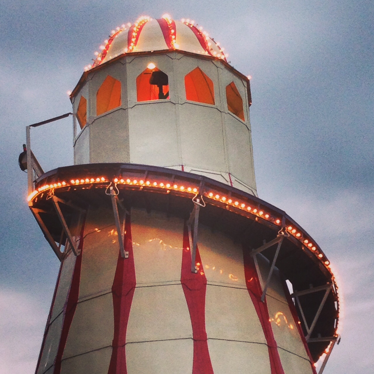 Twinkly Helter Skelter fun on Sunday night