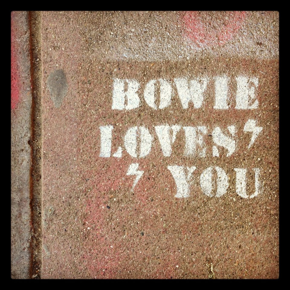 bowie loves you.
