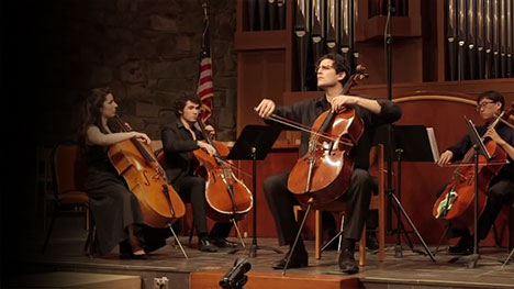 PEABODY PELED CELLO GANGwith AMIT PELEDSunday, May 31, 2020 | 4pmJewish Community Center ofNorthern Virginia - Internationally renowned cellist, Amit Peled, joins his cello students from the Peabody Institute for a spectacular afternoon of music. With Peled as soloist, the extraordinary group comes together to perform works arranged for cello ensemble.
