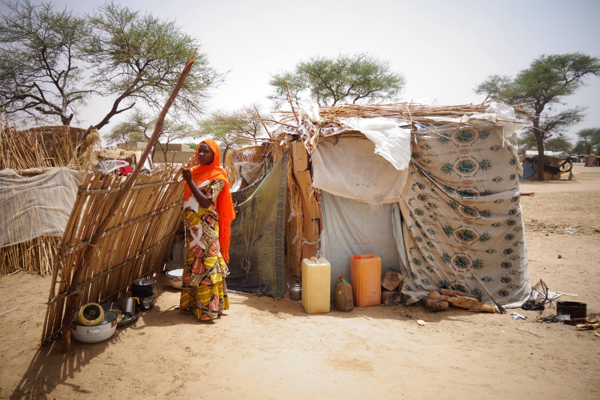 IDP settlement in Diffa, Niger (IOM)