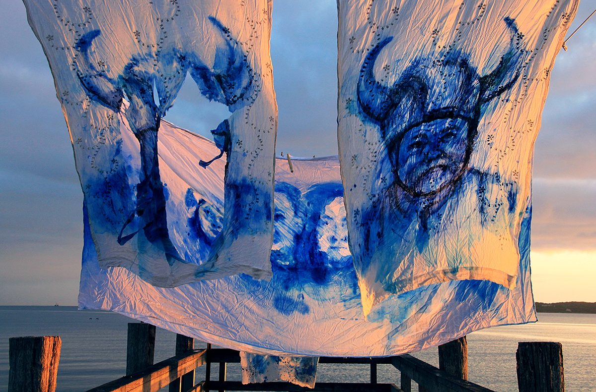 'Leviathan: The Montauk Portrait Project, Phase III: Phil' (2014) Image courtesy of artist.