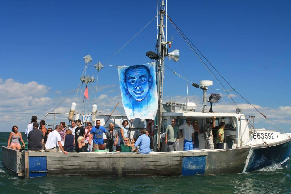 'Leviathan: The Montauk Portrait Project, Donald's Service' (2014)