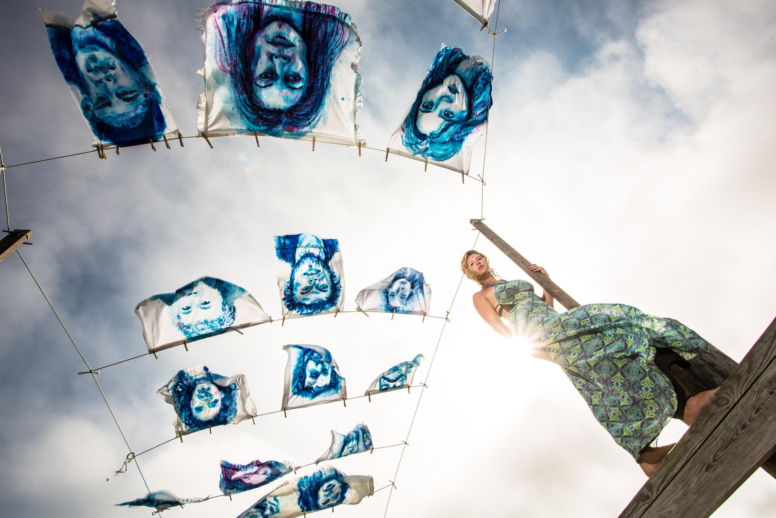 'Leviathan: The Montauk Portrait Project, Phase III - Portrait' (2014) Photo courtesy of James Katsipis.