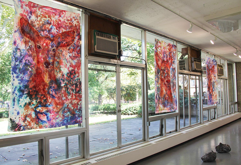 'Untitled I, II, & III' at Pratt Institute (2015) Image courtesy of artist.