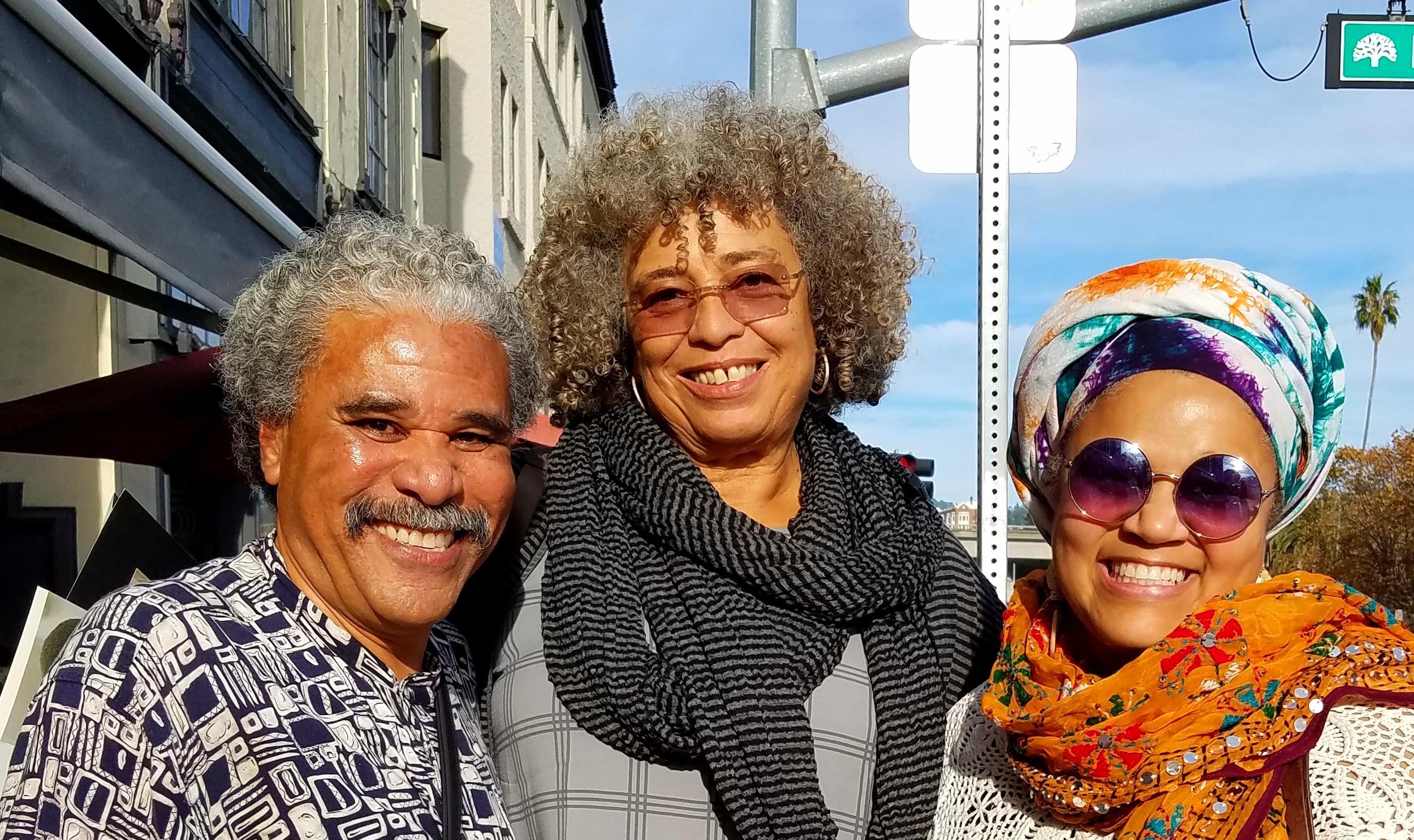 Anthony Brown, Angela Davis & Amikaeyla