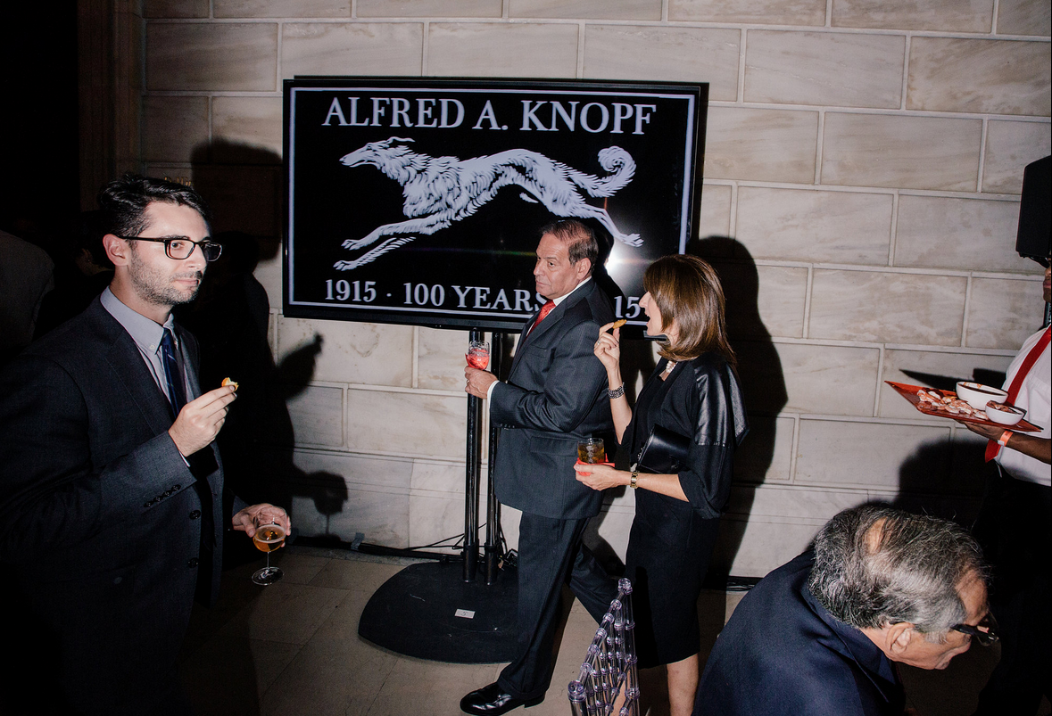 Knopf's 100th Anniversary, NYC Public Library