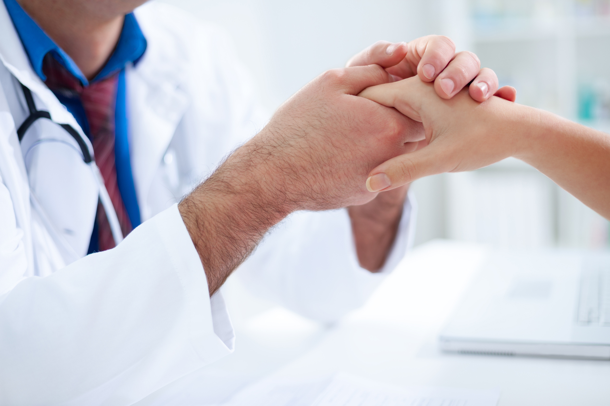 Do you take this doctor to be your primary care physician, in sickness and in health?