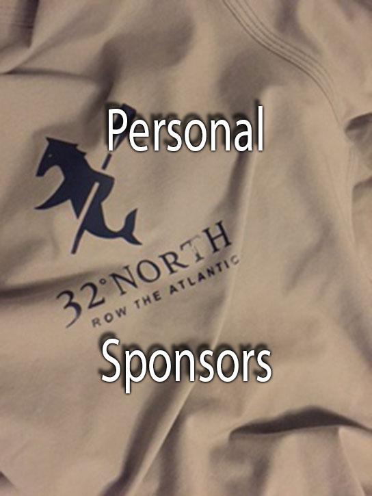 Personal Sponsors