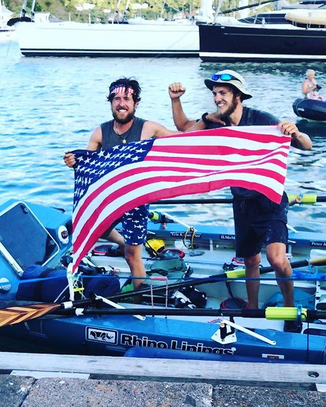 Welcome back, boys!!! #row32north #twac2016 #atlanticcampaigns
