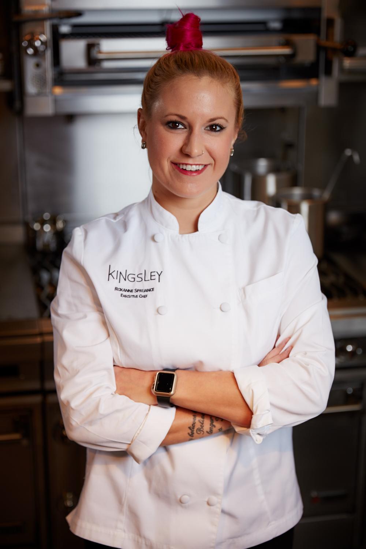 Chef/Owner Roxanne Spruance