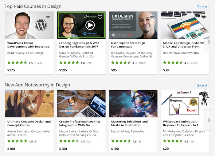 Look at your course next to all those other ones!