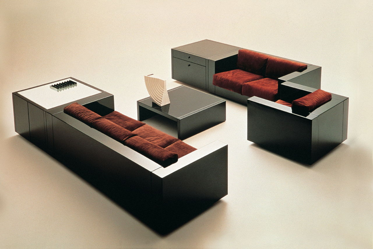 poltronova-saratoga-massimo-vignelli-living-set