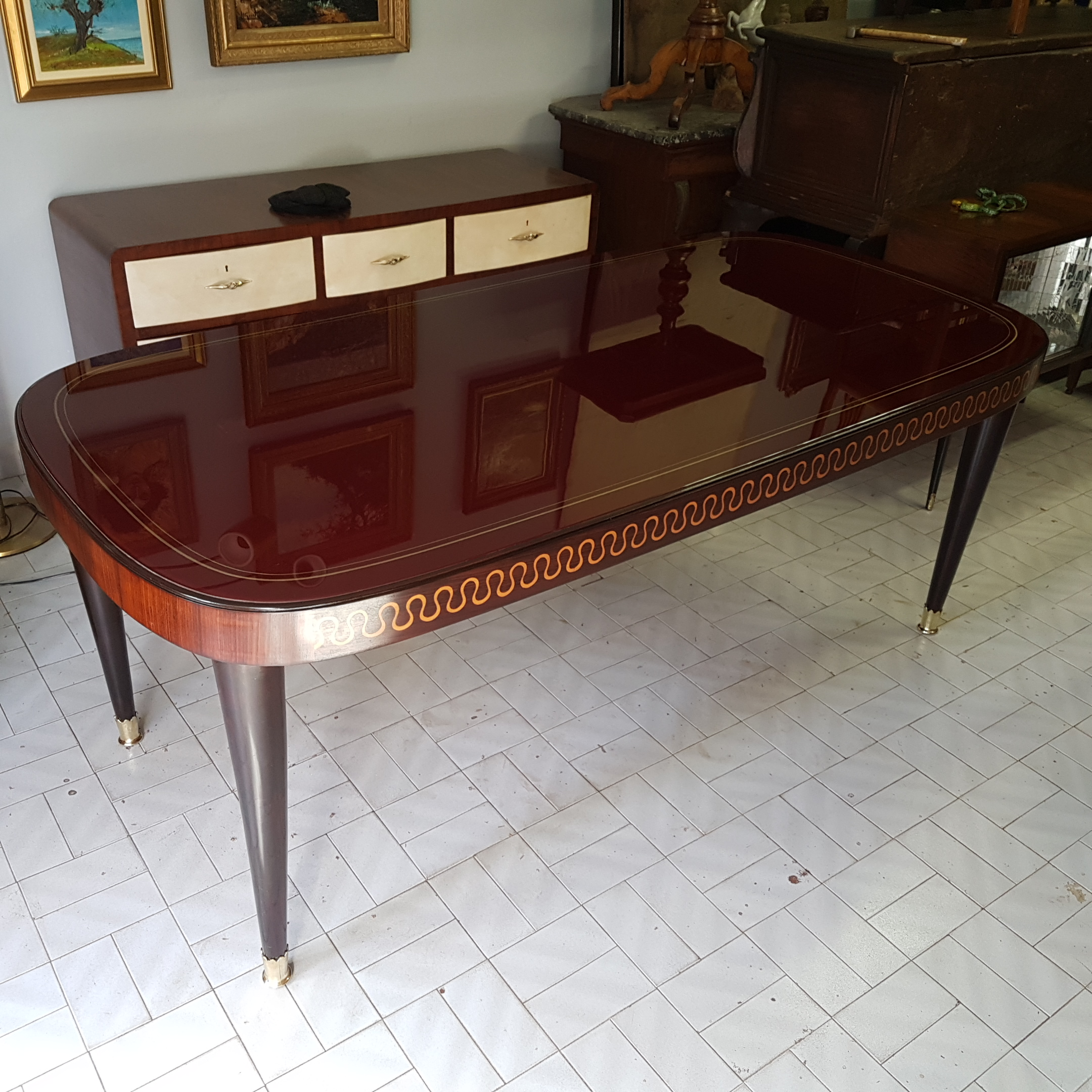 Mid Century Modern Italian Design Table