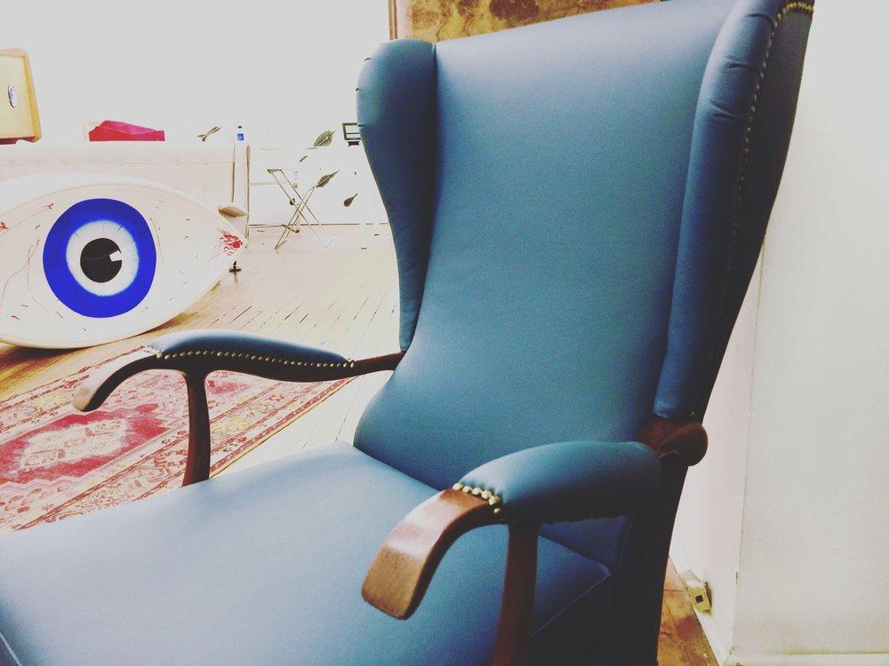 Italian Mid Century Chairs | Lounge Chairs | Paolo Buffa | Mid Century Modern