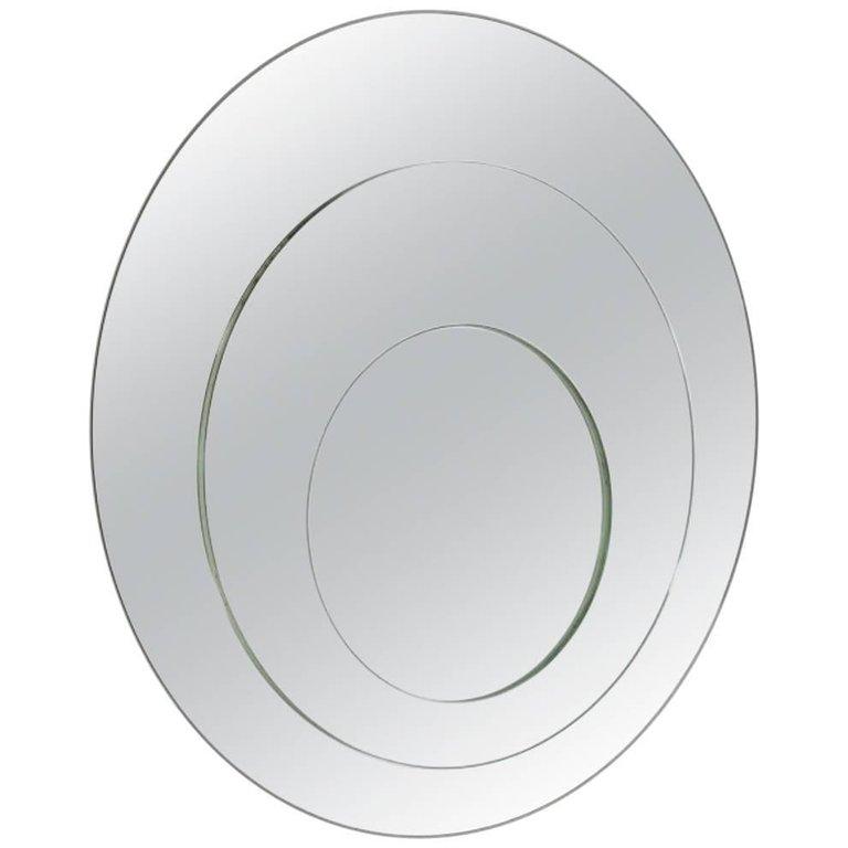 Cristal Art Mirror Rimadesio Mid Century Mirror