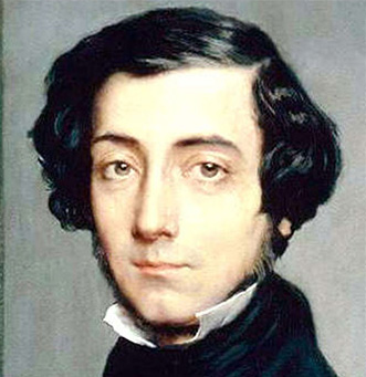 Alexis de Tocqueville, author of Democracy in America, and early JM Forbes & Co. client