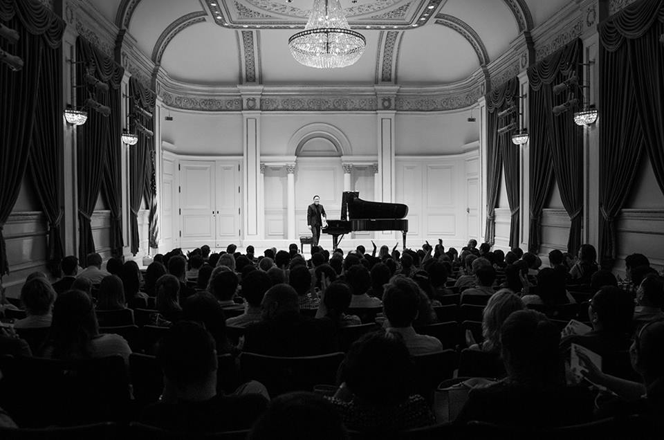 Baekyu Kim at Carnegie Hall. Directed, Promoted, Sold Out