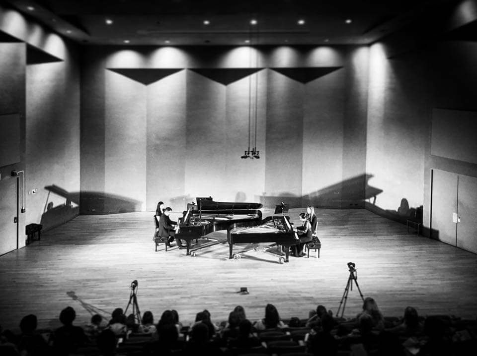 Piano Ensemble Societyat SUNY Purchase -