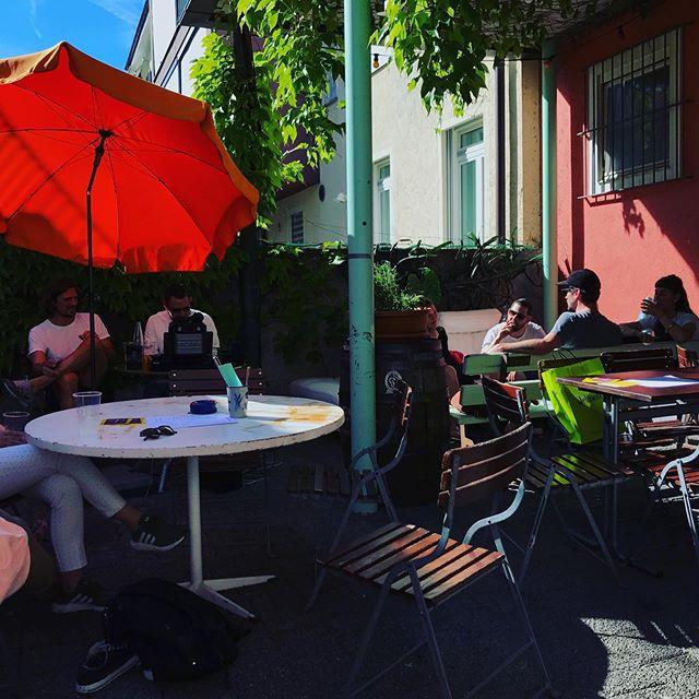 🌞 DER SOMMER IST DA !! 🌞 Endlich ist die Garten-Saison eröffnet! #sommer #garten #goldfass #restaurantmitgarten #kreis4 #zürich #essen #food #zurichfood