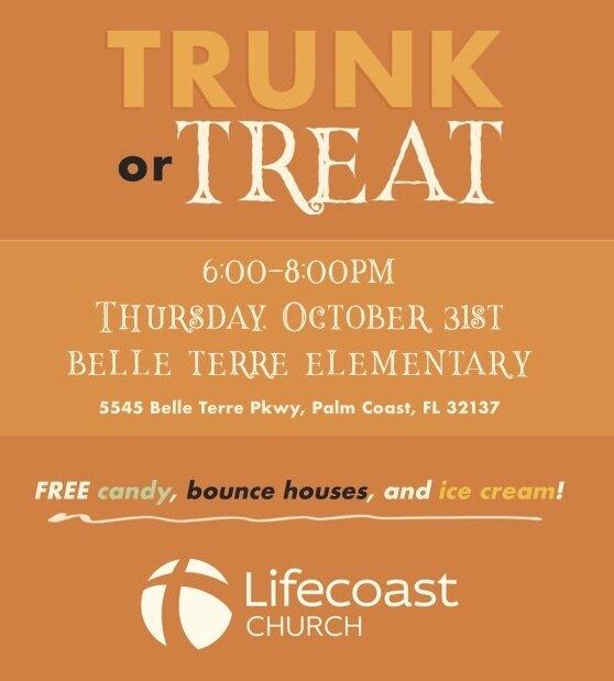 October 31st 6-8 pmBelle Terre Elementary School -