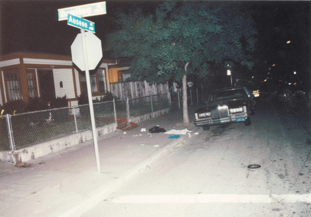 The intersection where Tony Davis killed Kevin Reed on July 9, 1990 – Oakland Police Department
