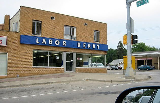 A Labor Ready outlet in Sioux Falls, South Dakota, July 2006. oddsandwich/Flickr