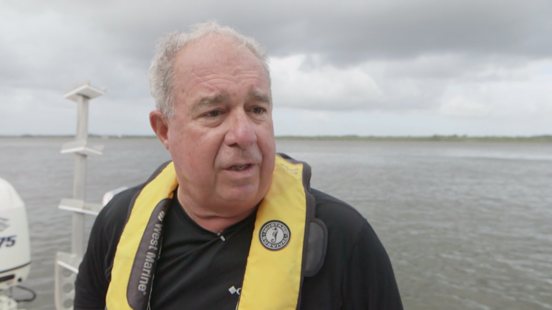 Brian Lapointe, a scientist at Florida Atlantic University's Harbor Branch Oceanographic Institute, has been studying the contamination of Indian River Lagoon. (Photo by Daniel Traub.)