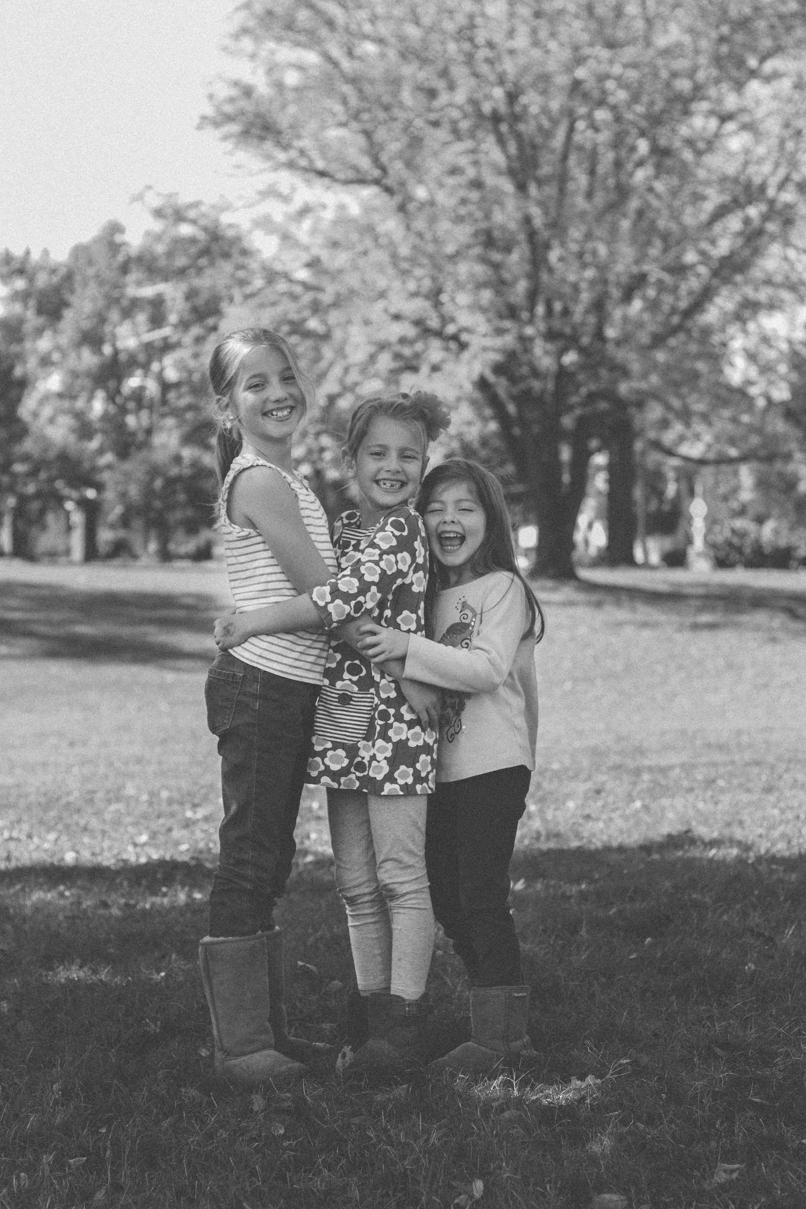 To wrap up I wanted to share some B&W's of the three girls I nanny for. This is my third year watching them and I've gotten to capture bits of their growing up and man is that a crazy thing to experience! It's bittersweet to watch the girls grow older cause of how drastically different each year gets. We went from snuggling and reading books everyday after school to rushing out the door the minute they get off the bus to scramble to 2,816 activities. As important as these girls are to me I am reminded when I look at these photos just how important photography is to me, but also how crucial it is in general. I start to get discouraged at the fact that there are so many photographers out there. I ask myself, am I really needed when thousands and thousands of people are doing the exact same thing as me? I actually just asked myself that last night while I lay awake in bed. And I am answering myself right now with a huge YES. Yes I am needed because these three girls are precious gifts from the Lord and if my only job, as far as photography goes, was to capture their beautiful lives growing older and wiser and more gorgeous each day that goes by then yes it would be worth my time and energy to be a photographer. Because some people do photography because it can make really good money. But a real artist will make, create and capture because we don't want to miss out on life and ourselves. Some people will look at their work and see money symbols. Others will look at their work and smile with pure joy. Have I mentioned how excited I am for 2016?