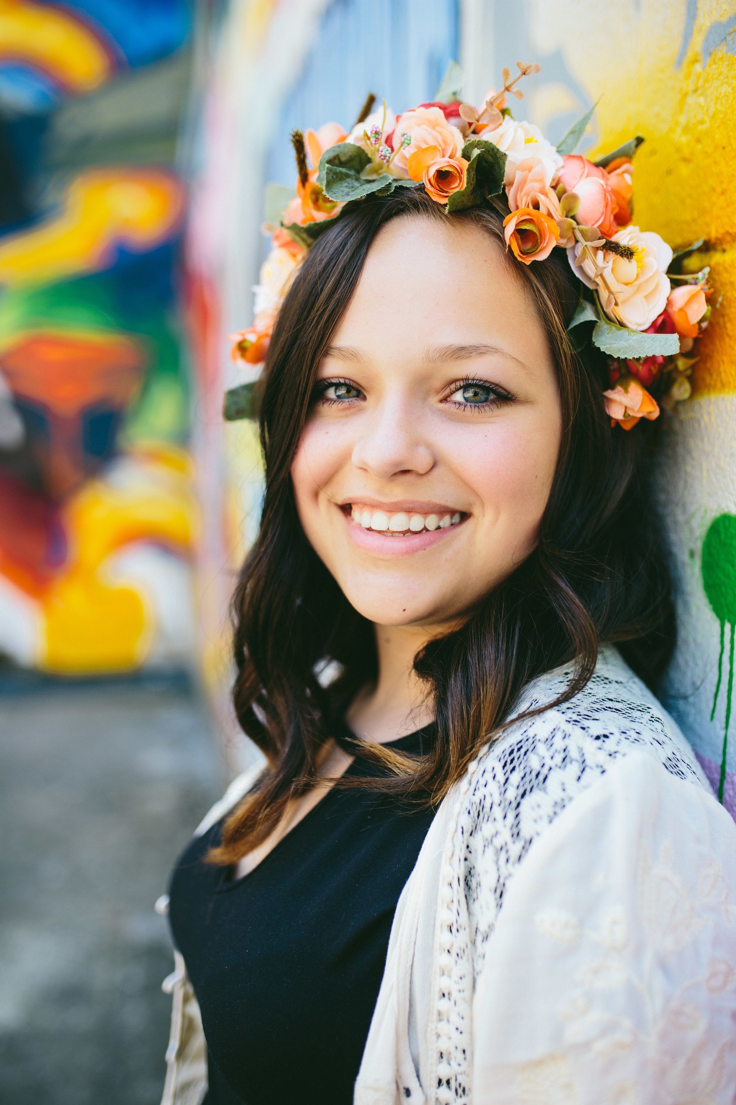 Flower-crown-senior-girl