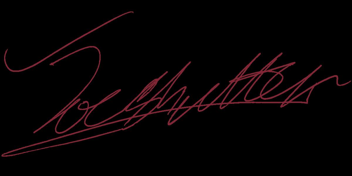Joe Shutter Signature