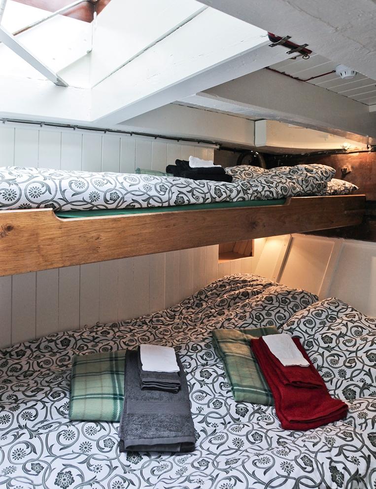 Schooner Opal Greenland North Sailing: Berth