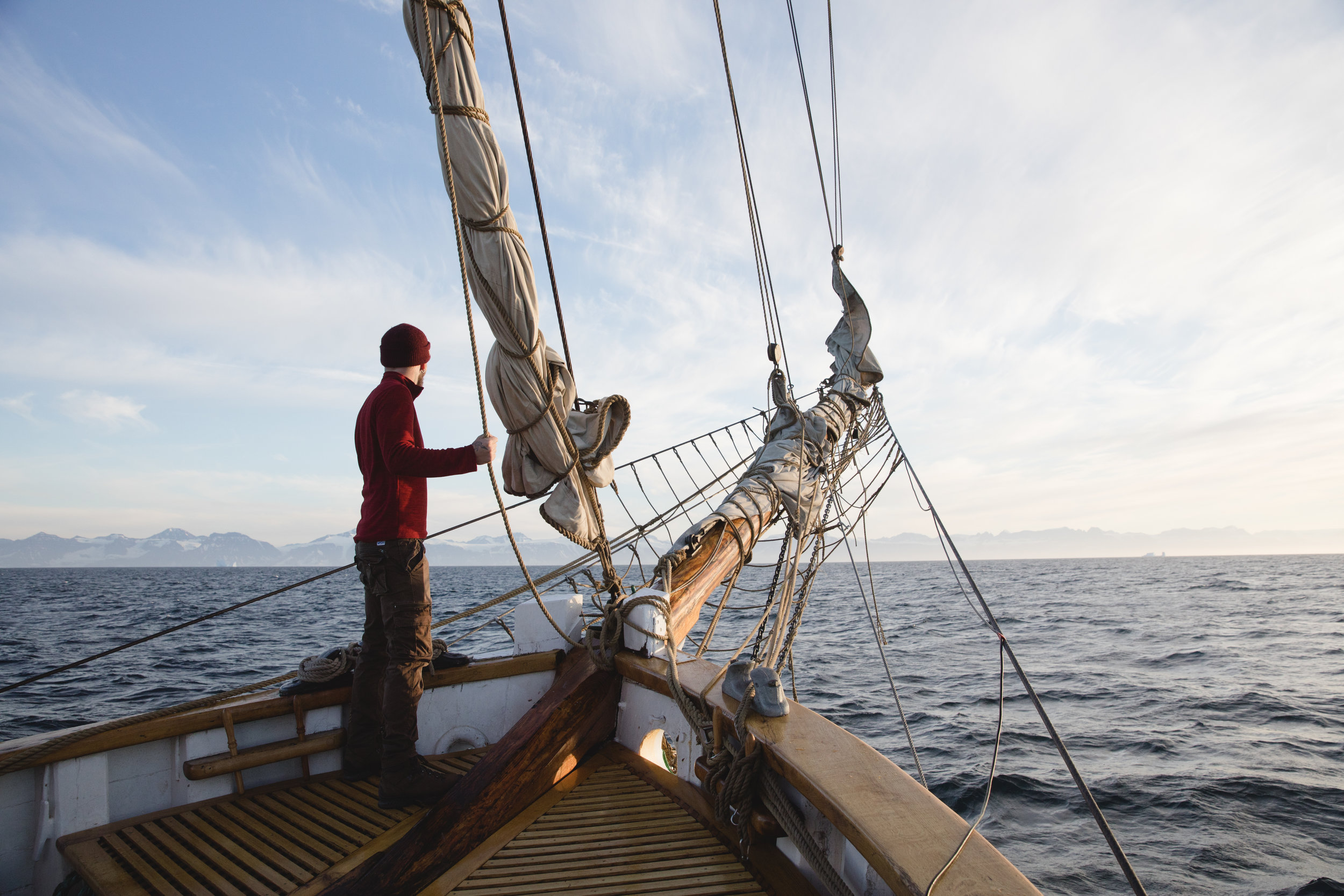 Silent Arctic Greenland Photography Workshop on Deck
