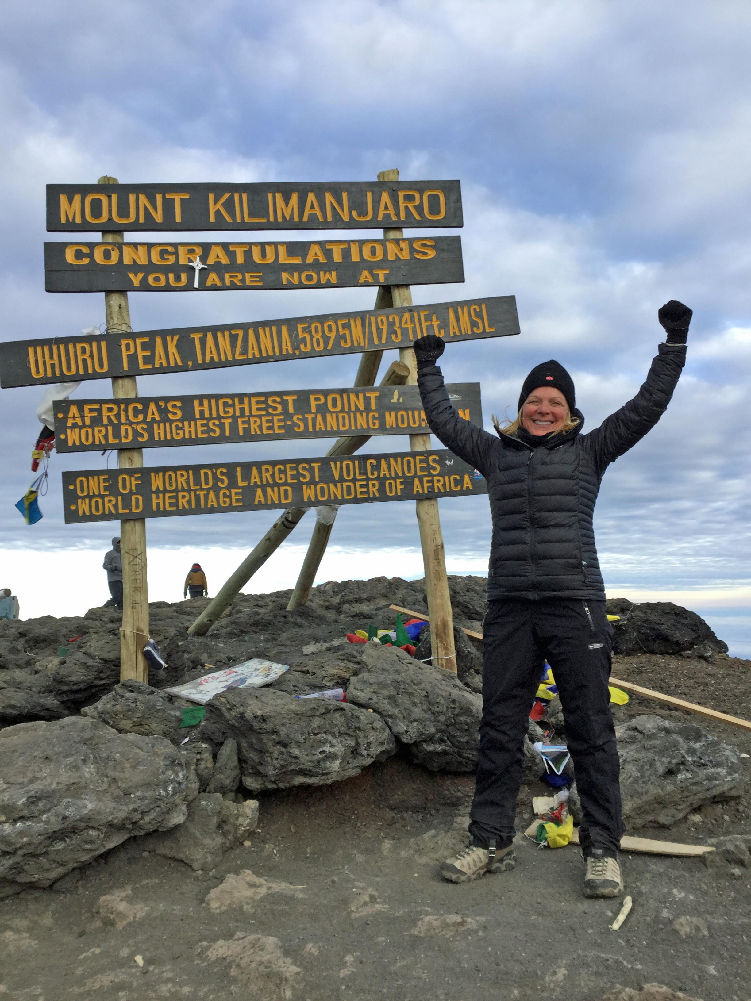 """After my divorce, I conquered Mt Kilimanjaro!"""