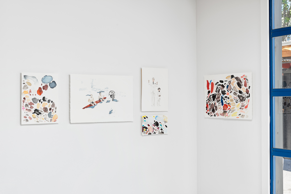 "Installation view, ""Good Times"", Interface Gallery 2016"