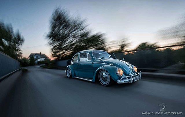 Old & Slow... so nice Photo: @e_dobbel_d  #vw #volkswagen #beetle #static #rollingshot