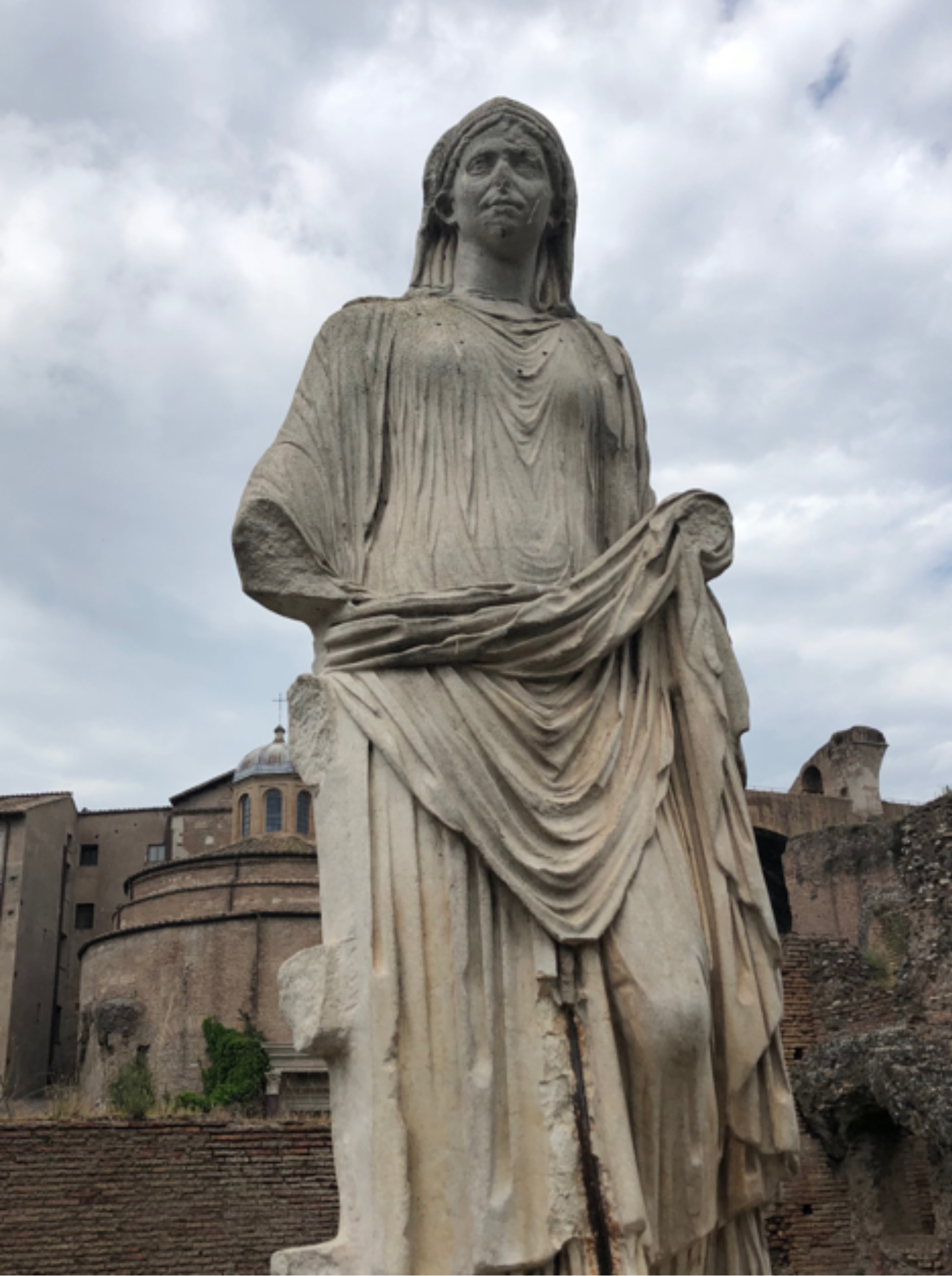 Vestal Virgin, The Roman Forum