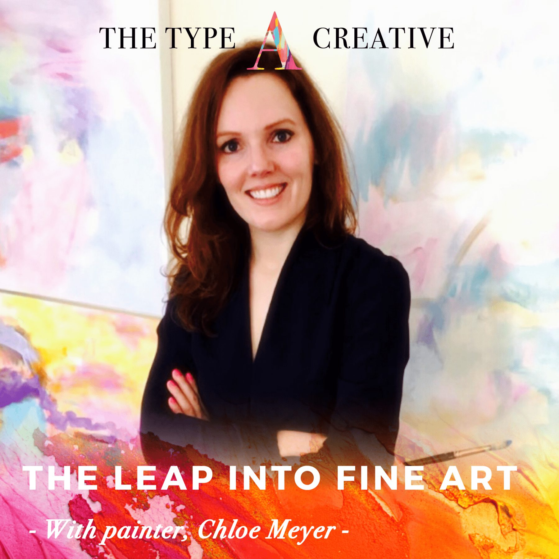 Abstract Artist Chloe Meyer