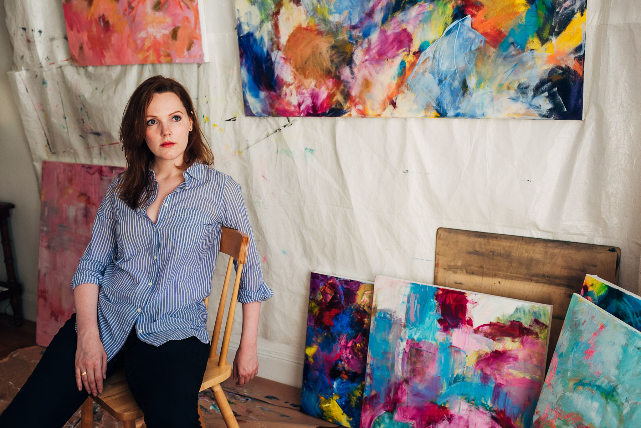 Abstract Painter Chloe Meyer