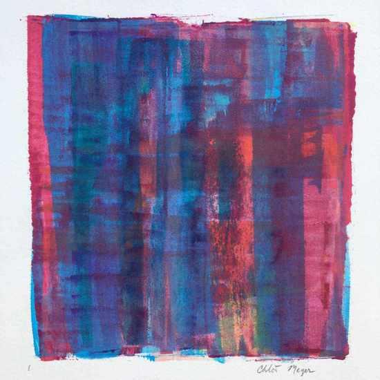 "BRIDGE 1, Chloé Meyer original artwork, 10"" X 11"", ink on paper"