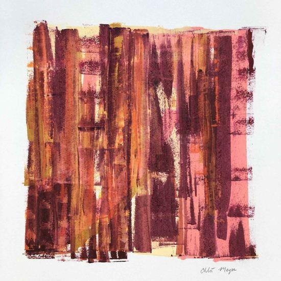 "LIGHTS 1, Chloé Meyer original art, 10"" x 11"", ink on paper"