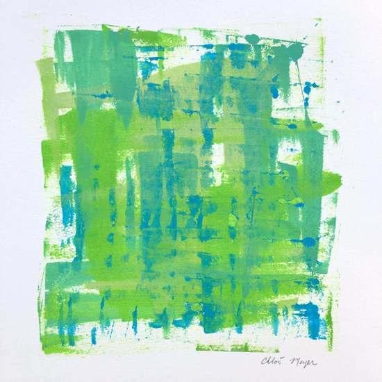 "LOOKING 2, Chloé Meyer original art, 10"" X 11.25"", ink on paper"