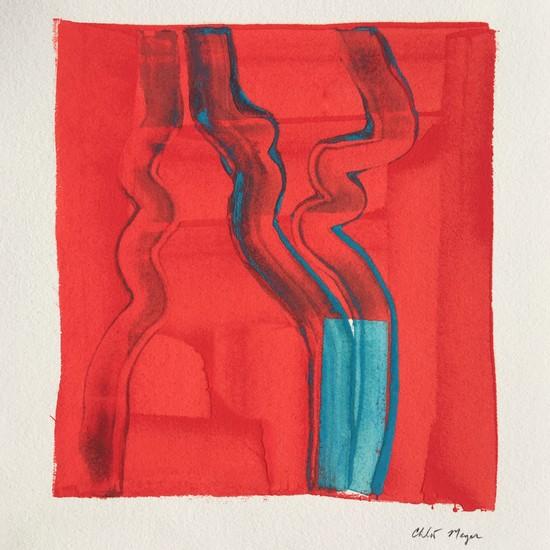 "COAST 7, Chloé Meyer original artwork, 10""x 11.25"", ink on paper"
