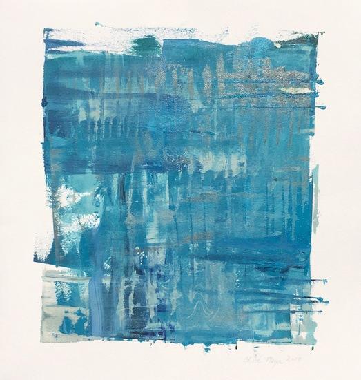 "MIST 8, Chloé Meyer original art, 10"" x 11"", ink on paper"