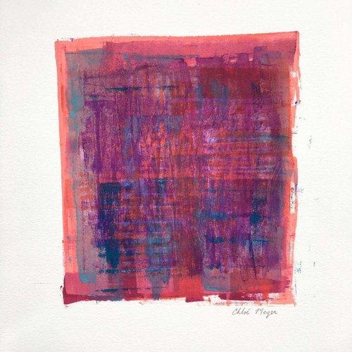 "EXPAND 2, Chloé Meyer original artwork, 10"" X 11"", ink on paper"