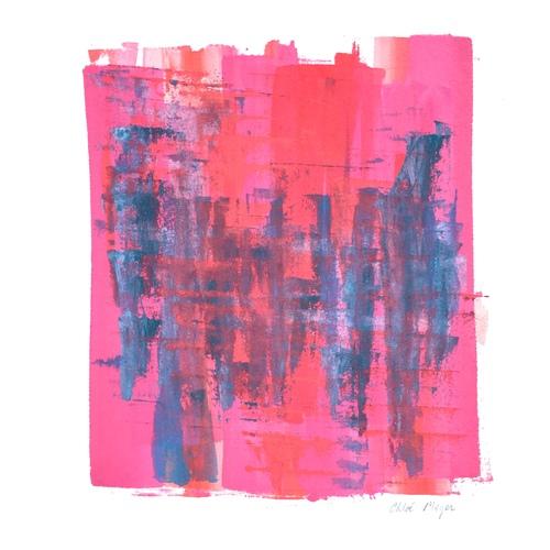"EXPAND 3, Chloé Meyer original artwork, 10"" x 11.25"", ink on paper"